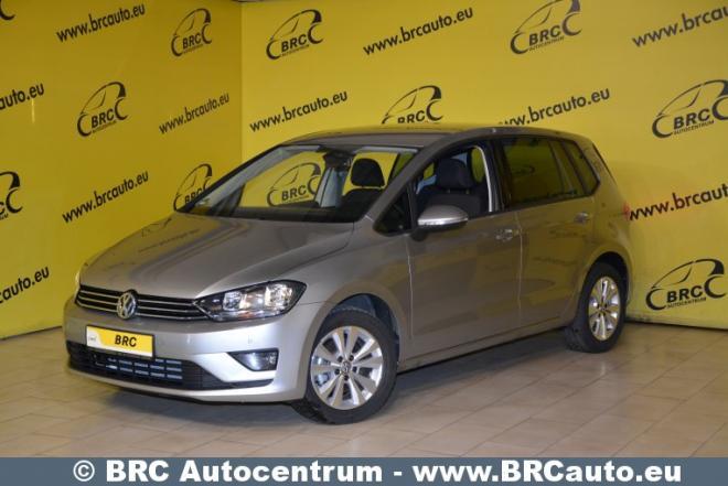 Volkswagen Golf Sportsvan, pilkas, vienatūris-0