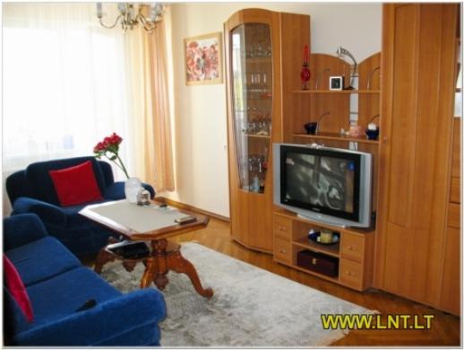 Parduodamas 2 kambarių butas Statybininkų g., Panevėžyje. Namas blokinis 1973 metų statybos, -3