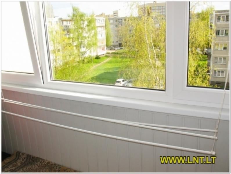 Parduodamas 2 kambarių butas Statybininkų g., Panevėžyje. Namas blokinis 1973 metų statybos, -7