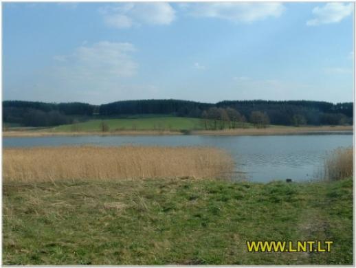 Parduodamas posodybinis sklypas Trakų raj., Panošiškiu k. prie Vilkokšnio  ežero. Sklypo -4