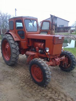 traktorius t-40 bei priekaba2pts4-0