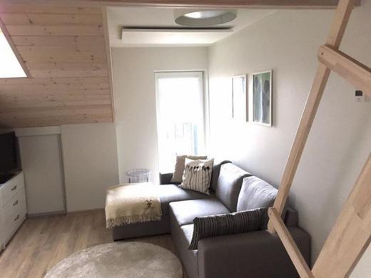 Šviesus dviejų kambarių butas su balkonu ir terasa Palangoje-2