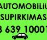 Automobilių,kebulu supirkimas. Utilizavimo pažymos-0