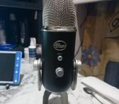 Blue yeti studio kondensatorinis USB mikrafonas-0