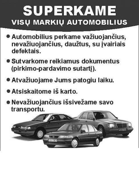 superkame automobilius aukšta kaina visuose miestuose-1