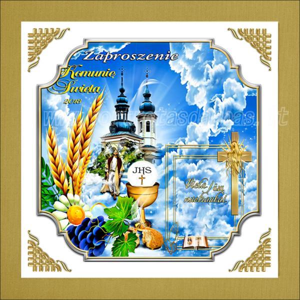 Sveikinimas tėvams gimus vaikui, sveikinimai su krykštinomis, su Pirmąja Komunija... -6