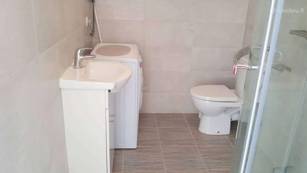 Naujos statybos 2 kambarių butas Palangoje-5