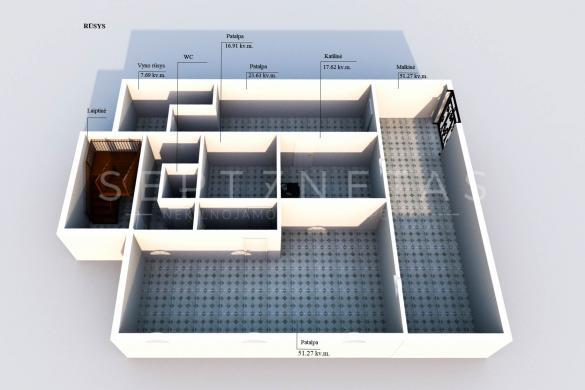 Parduodmas NAMAS Kretingos miesto centre-4