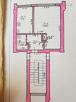 1 kambario butas Genių g., Naujoji Vilnia-3