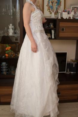 Rankų darbo vestuvinė suknelė pagaminta Švedijoje-2
