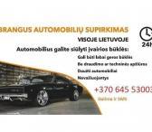 Brangiai, skubiai superkame automobilius +37064553003-0
