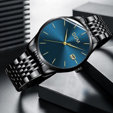 DOM patrauklus klasikinis laikrodis firminėje dėžutėje-0