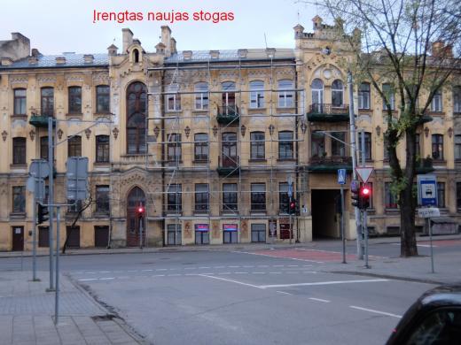 Parduodamas 3 kambarių didelis erdvus butas Senamiestyje, Kauno g. -7
