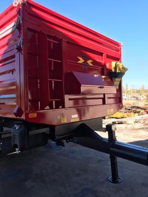 Traktoriaus Priekabos-6