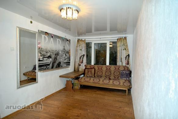 Parduodamas gero išplanavimo erdvus 2 kambarių butas Vinčų g.-3