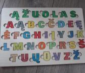 Medinės raidžių ir skaičių delionės-0