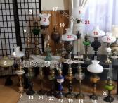 Antik.veikiančių žibalinių lempų kolekcija-0