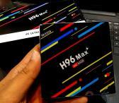Android 8.1 TV Box H96 Max Plus 4gb/64gb-0