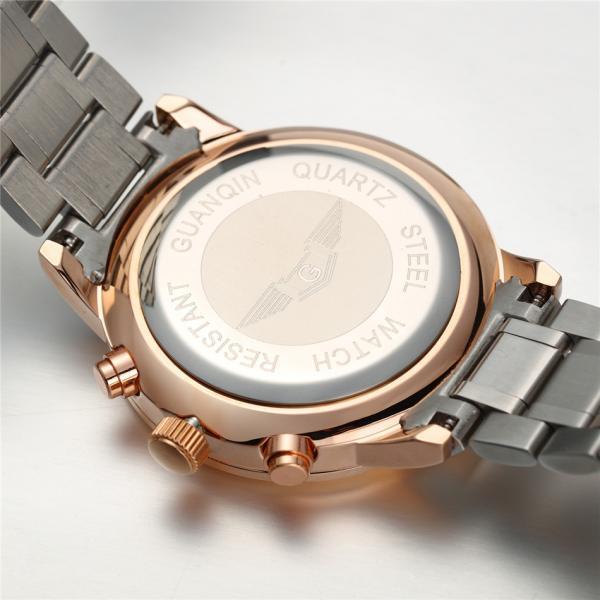 GUANQIN patrauklus solidus šveicariško lygio laikrodis firminėje dėžutėje-1