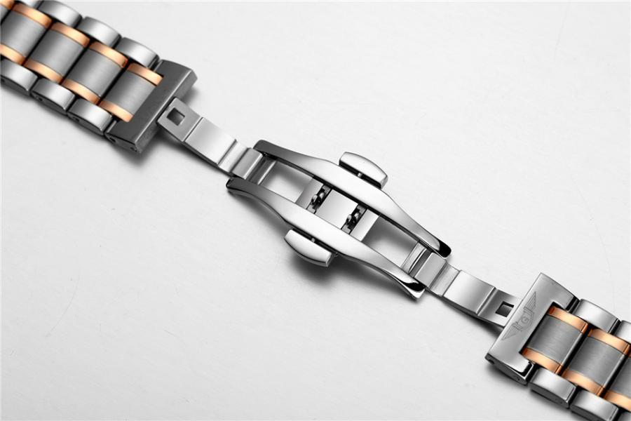 GUANQIN patrauklus solidus šveicariško lygio laikrodis firminėje dėžutėje-2