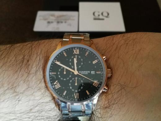 GUANQIN patrauklus solidus šveicariško lygio laikrodis firminėje dėžutėje-3