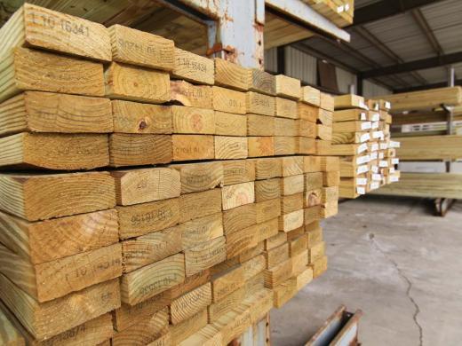 Statybinė, pjautinė , impregnuota mediena-1
