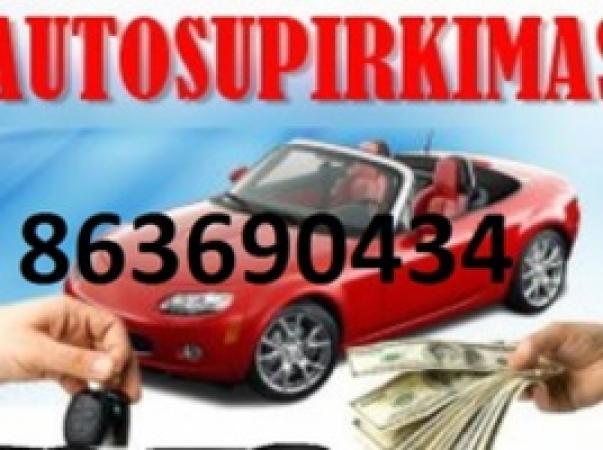 AUTO SUPIRKIMAS NUO 50EUR IKI 50000EUR -0