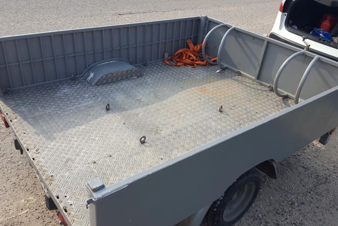 bortine priekaba - platforma -0