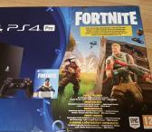 Playstation 4 Pro 1TB Fortnite, Garantija, kaina- 400e. Komplektas ps4, kaip naujas.-0