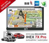 NAUJA IHEX-7X PRO NAVIGACIJA automobiliams ir sunkvežimiams-0