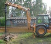 * Polių gręžimas Vilniuje, 8676-49574, kaina 35 EUR-0