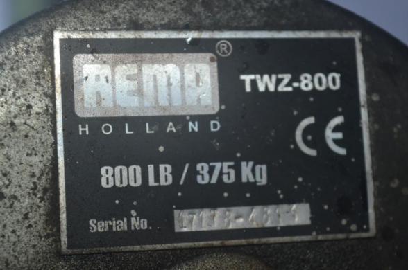 Priekaba Rema Holland TWZ-800-3