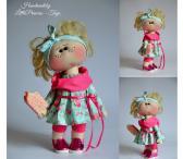 Handmade dolls Rankų darbo lėlės-0
