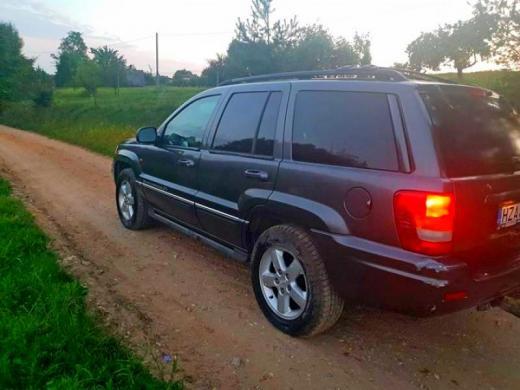 Parduodu jeep grand cherokee 4.7 overland-3