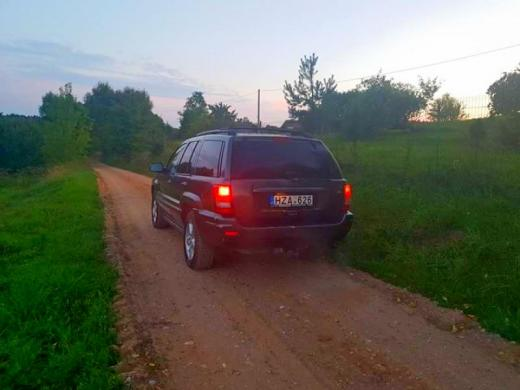 Parduodu jeep grand cherokee 4.7 overland-4