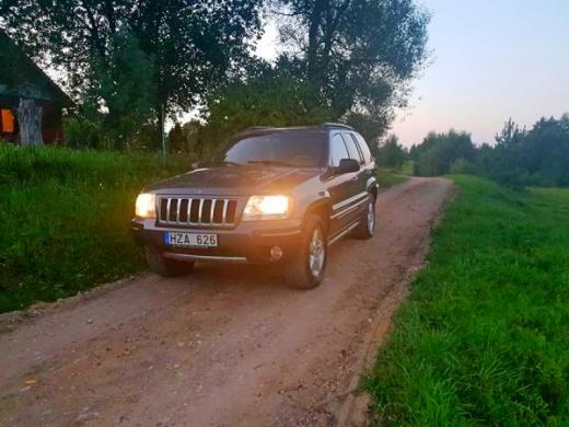Parduodu jeep grand cherokee 4.7 overland-5