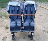 Parduodamas naudotas bugaboo donkey weekender dvynukų vežimėlis -0