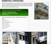 Kapitalinis balkonu remontas, apdaila-0