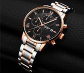 GUANQIN patrauklūs solidūs šveicariško lygio laikrodžiai firminėse dėžutėse-0