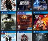 PlayStation 4 (PS4) ir XBox One vaizdo žaidimų išpardavimas-0