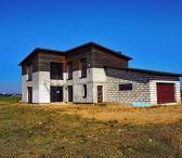 Namas Stetiškėse, nebaigtos statybos, 220 kv.m. Visos komunikacijos, 9 a.-0