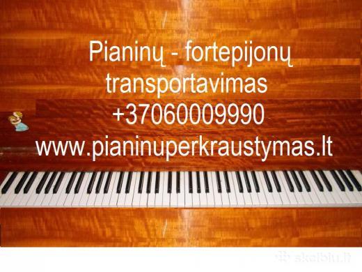 Pianinų pervežimas,gabenimas- užnešimas Vilniuje +37060009990-3