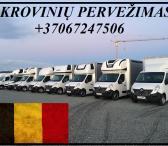 Krovinių Pervežimas kietašoniu mikroautobusiuku Lietuva – Belgija – Lietuva ! Telpa 6 euro paletės iki 1200kg. Vežame krovinius, siuntas, baldus, įrengimus ir t.t / Galime perkraustyti iš vienos šalies į kitą, Lietuva – Europa – Lietuva ! Busiuko Matmenys-0