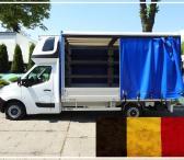 Tentiniu busiuku vežame krovinius iš Belgijos į Belgiją. Vežame krovinius, siuntas, baldus, įrengimus ir t.t / Galime perkraustyti iš vienos šalies į kitą, Lietuva – Europa – Lietuva ! Busiuko Matmenys: ilgis 4.2m. x plotis 2.1m. x aukštis 2.2m. – keliamo-0