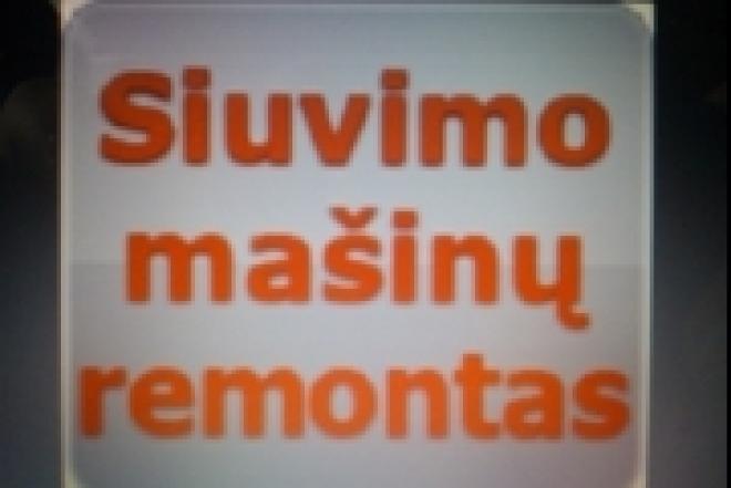 S I U V I M O MASINU REMONTAS -863091600-0