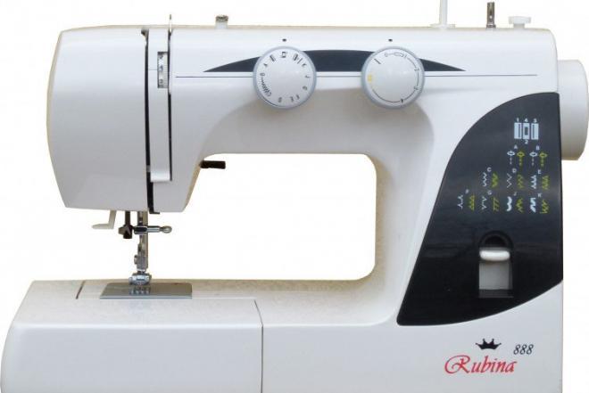 Elektrinė siuvimo mašina Rubina 888-0