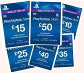 SONY PSN Playstation papildymo kortelės pigiau!-0