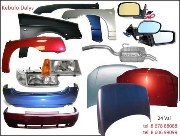 Audi A3 kėbulo dalys-0