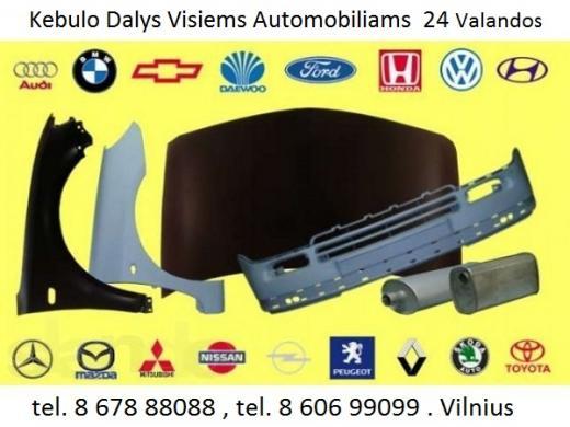 Audi 80 B4 kėbulo dalys -1