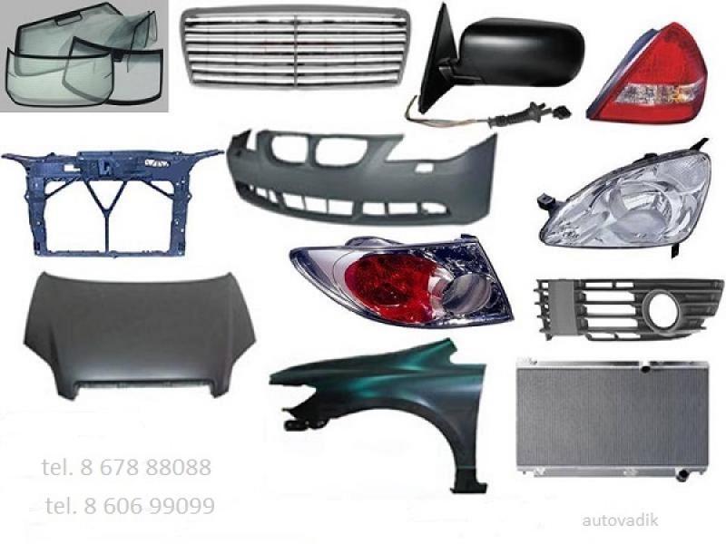 Audi TT kėbulo dalys-1